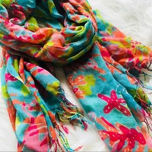Lilly Pulitzer Trippin and Sippin Murfee Scarf